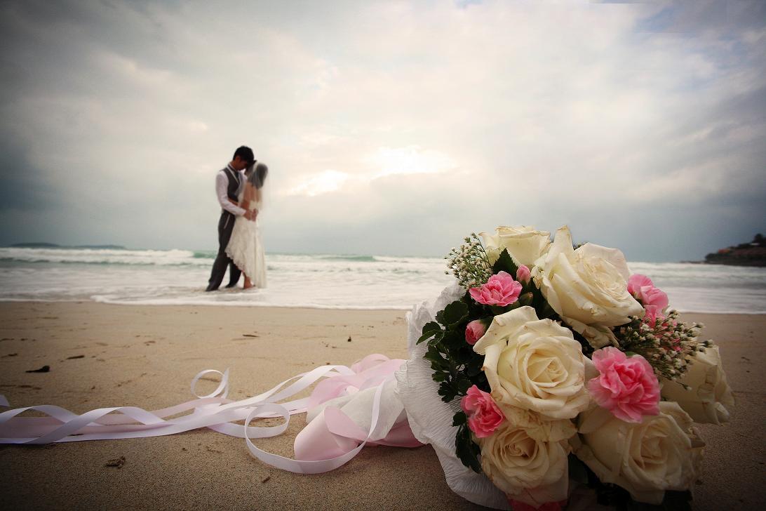 Boda de playa de novio